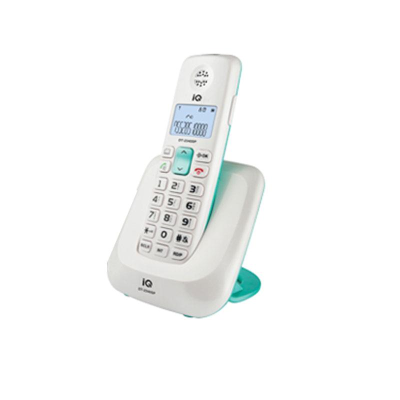 Ασύρματο Τηλέφωνο IQ DT-2340SP Λευκό/Πράσινο