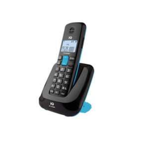 Ασύρματο Τηλέφωνο IQ DT-2340SP Μαύρο/Μπλέ