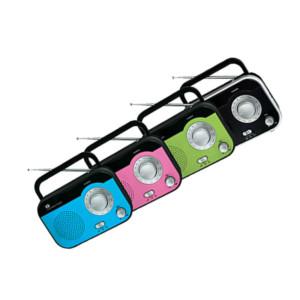 Ραδιόφωνο PR-139 IQ Ρεύματος και Μπαταρίας Αναλογικό σε 4 χρώματα