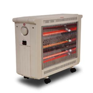 Σόμπα Χαλαζία-Quartz iQ 2400W HT-1490 με Θερμοστάτη και Ανεμιστήρα