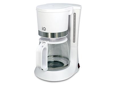 Καφετιέρα IQ CM-160 Λευκή 680W 10 Φλυτζάνια
