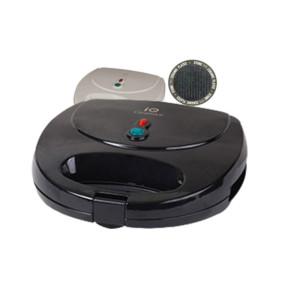 Τοστιέρα IQ ST-637 Ceramica 700W Μαύρη με Κεραμικές Πλάκες Gril
