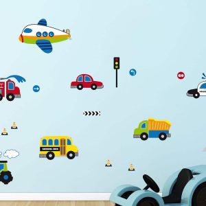 Ango 18108 - Traffic διακοσμητικά αυτοκόλλητα τοίχου Large μέγεθος