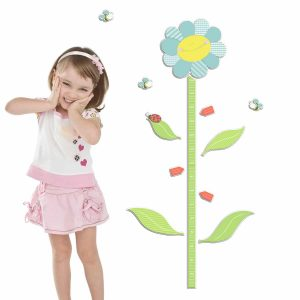 Ango 18503 - Smiling Flowers υψομετρητής αφρώδης αυτοκόλλητος Large μέγεθος