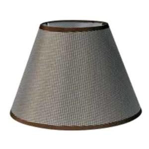 195-52474-Καπέλο Ø30 Καρό Καφέ Ύφασμα CL-30-KB ARlight