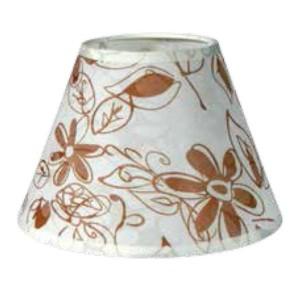 195-52476-Καπέλο Ø30 Λουλούδια Μπεζ Ύφασμα CL-30-FB ARlight