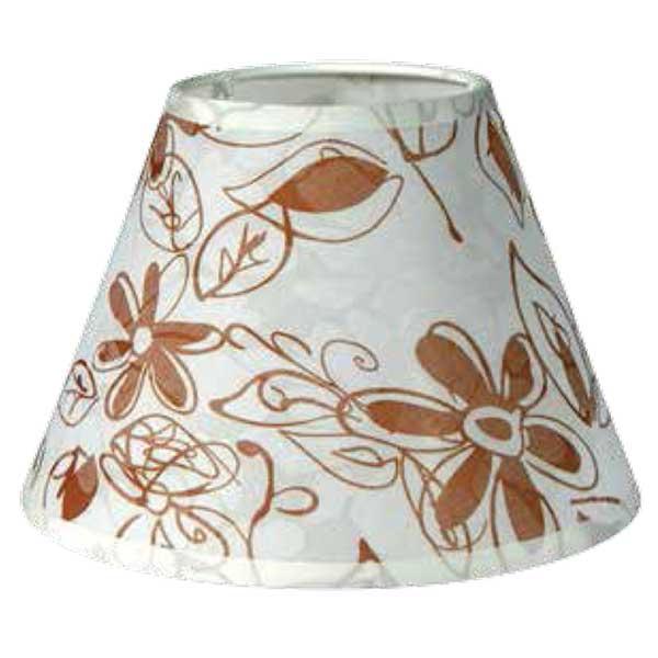 195-52485-Καπέλο Ø25 Λουλούδια Μπεζ Ύφασμα CL-25-FB ARlight
