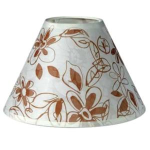 195-52499-Καπέλο Ø14 Λουλούδια Μπεζ Ύφασμα CL-14-FB ARlight