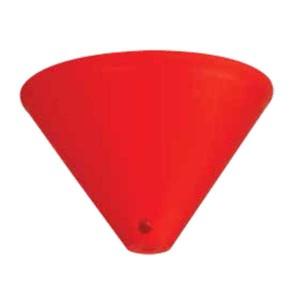 195-52515-Ροζέτα Κόκκινη Πλαστική DS-002-RD ARlight