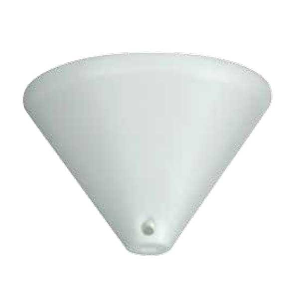 195-52516-Ροζέτα Λευκή Πλαστική DS-002-WH ARlight