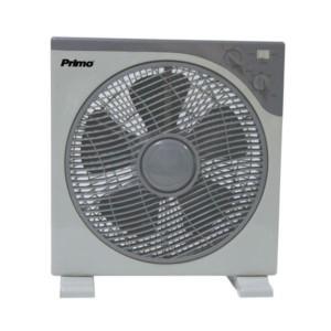 Ανεμιστήρας Box Fan Με Χρονοδιακόπτη 30cm PRIMO KYT-30A Λευκός/Γκρί