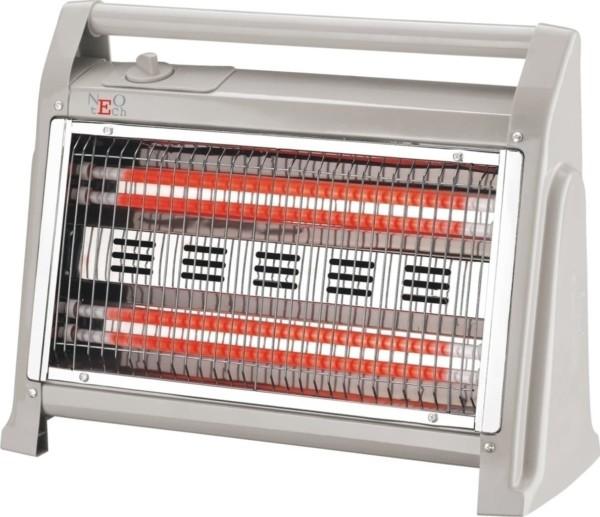 Ηλεκτρική Σόμπα Χαλαζία Γκρι Primo 1200W LX-2830