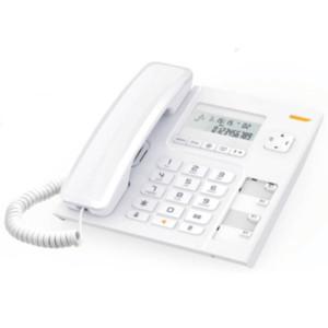 Τηλέφωνο Επιτραπέζιο με Αναγνώριση Alcatel Τ-56 Λευκό