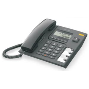 Τηλέφωνο Επιτραπέζιο με Αναγνώριση Alcatel Τ-56 Μαύρο