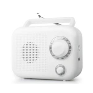 Ραδιόφωνο Muse M-210 Μπαταρίας-Ρεύματος Αναλογικό Λευκό