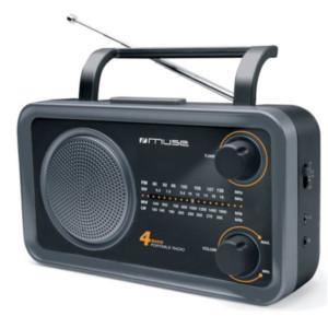 Ραδιόφωνο Muse M-05DS Μπαταρίας-Ρεύματος Αναλογικό