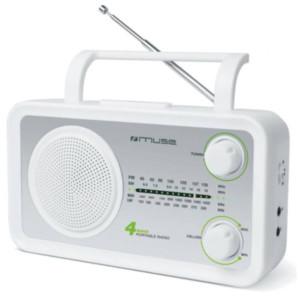 Ραδιόφωνο Muse M-05SW Μπαταρίας-Ρεύματος Αναλογικό
