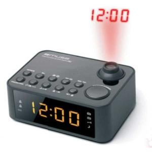ΡαδιόΡολόϊ Muse M-178P Μπαταρίας-Ρεύματος Ψηφιακό με προβολή της Ώρας