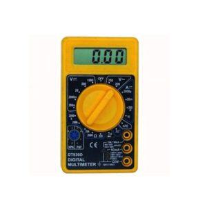 Ψηφιακό Πολύμετρο DT-830D με κάλυμμα προστασίας από πτώσεις και χτυπήματα DC/AC