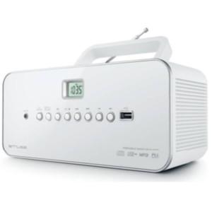 20107120/1-282-CD Player Λευκό M-28DW
