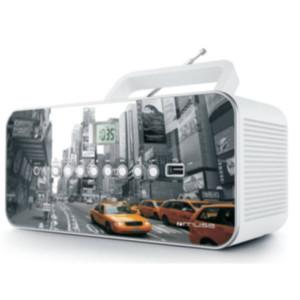 CD Player Λευκό M-28NY