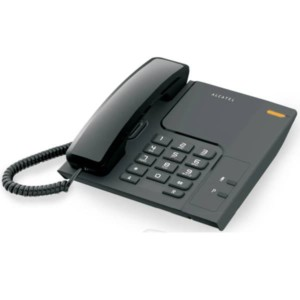 Τηλέφωνο Επιτραπέζιο Alcatel T26 Μαύρο