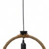 Φωτιστικό KYKLOS Μεταλλικός με Σχοινί Φ32 UT-BL