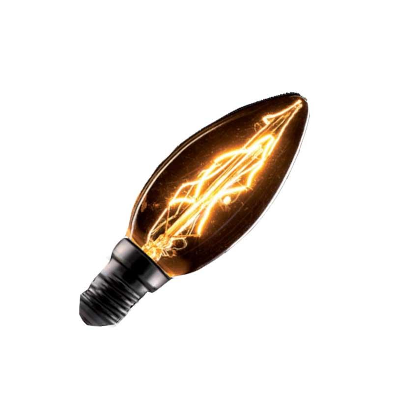 Λάμπα Retro Νήματος Edison E14 40W Κερί