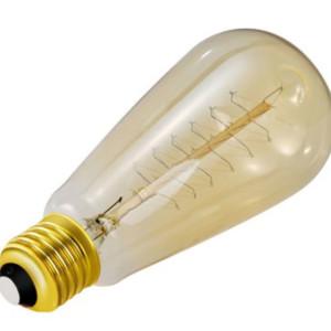 Λάμπα Retro Νήματος Edison E27 40W Τύπος R