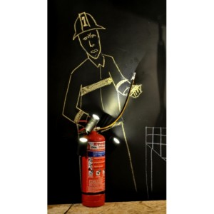 Φωτιστικό Πυροσβεστήρας