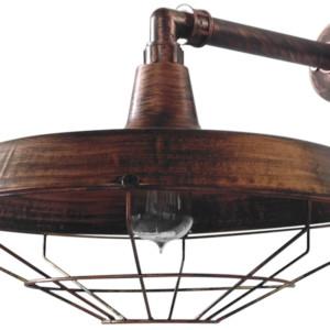 Φωτιστικό Τοίχου/Απλίκα US-FACTORY AP 90° COPPER
