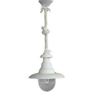 Φωτιστικό Πυροφάνι Με Σχοινί Λευκό FLP-100K ROPE WHITE