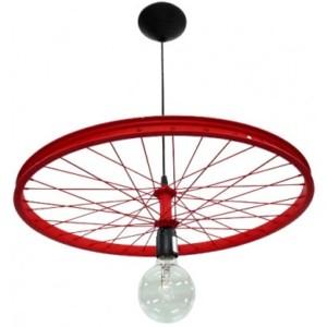 Φωτιστικό BICYCLE FUN-16 1L RED