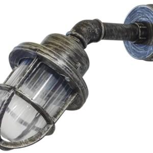 Φωτιστικό απλίκα Industrial PP-27AP/SLP-500 45° Silver