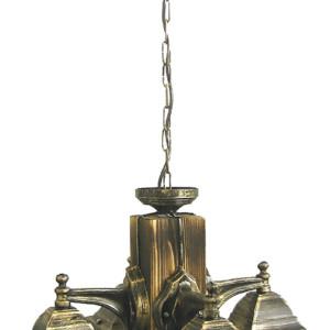 Φωτιστικό Ξύλο Rustic R-710T 4L