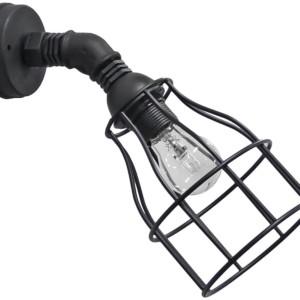 Φωτιστικό Απλίκα Industrial PP-27AP/FUN-10 45° 1L Black