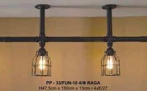 Φωτιστικό Ράγα Industrial PP-33/FUN-10 4/Φ RAGA