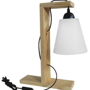 Φωτιστικό Επιτραπέζιο/Πορτατίφ Conos Wood FUN-01-PP-A Wood
