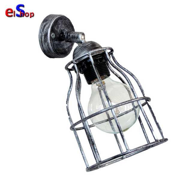 Φωτιστικό Απλίκα Vintage Net FUN-10KEY AP Silver. 31-0183