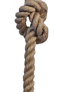 Φωτιστικό Σχοινί Rope E/27K 1L Φ24