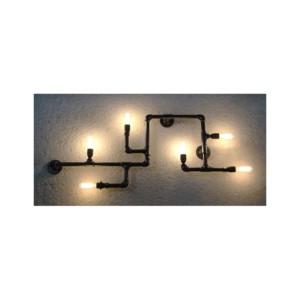 Φωτιστικό οροφής/τοίχου με 6 φώτα