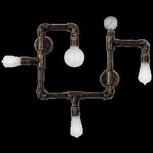 Φωτιστικό οροφής/τοίχου με 4 φώτα