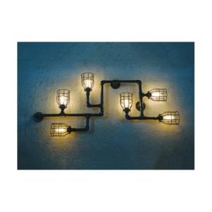 Φωτιστικό οροφής/τοίχου με 6 φώτα FUN