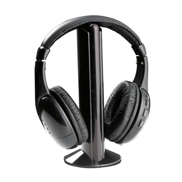 Esperanza Ακουστικά Ασύρματα FM 58dB TITANUM LIBERTY Μαύρο