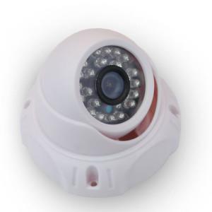 Περιστρεφόμενη CCD κάμερα παρακολούθησης HD με υπέρυθρες εσωτερικού και εξωτερικού χώρου (dom type)
