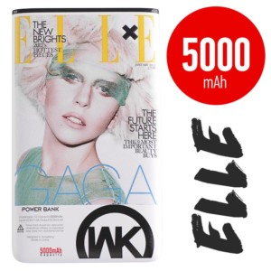 Power bank 5000mAh - WK Elle