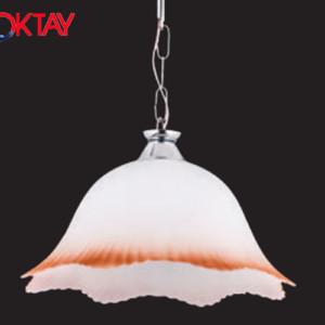 Φωτιστικό Μονόφωτο Κρεμαστό από Γυλί 2228 OKTAY