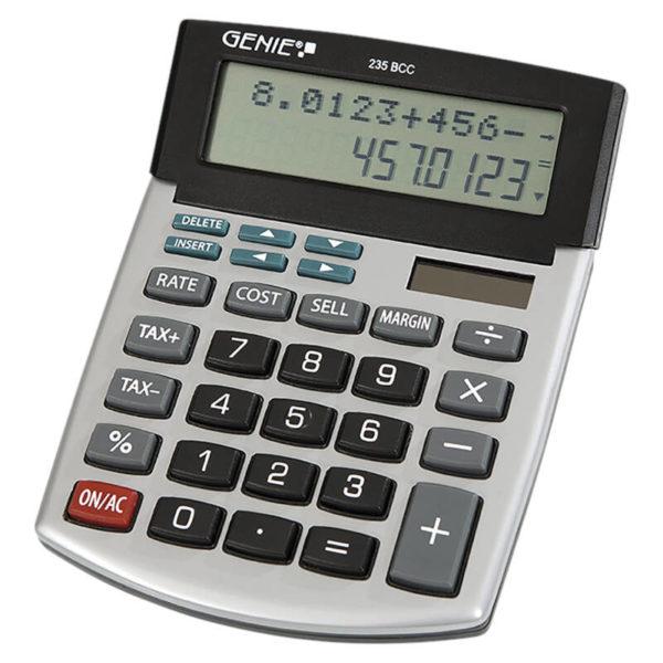 55110649-0049-Genie 235BCC Αριθμομηχανή γραφείου 2 γραμμών με ιστορικό πράξεων