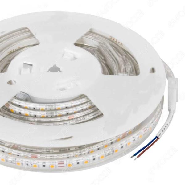 Ταινία Led 5050 24V IP65 Θερμό Λευκό 3000K 9W/m 5m 500lms/W V-TAC 2562