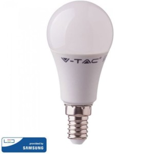 LED Plastic Samsung Chip A58 9W E14 Θερμό Λευκό-3000K V-Tac 114
